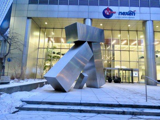 Nova Gate sculpture