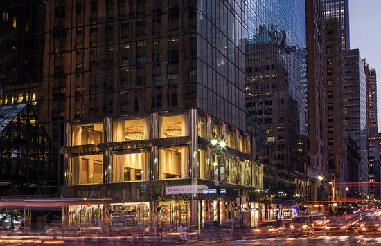 Grand Hyatt New York : Exterior