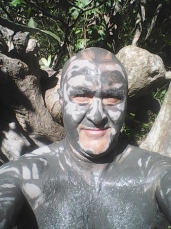 Rincon de La Vieja, คอสตาริกา: get in the thermal pool first to open your pores then mud then back to the pools