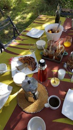 Pinelands, Sudáfrica: Petit déjeuner