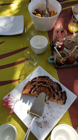 Pinelands, Sudáfrica: Gâteau du jour