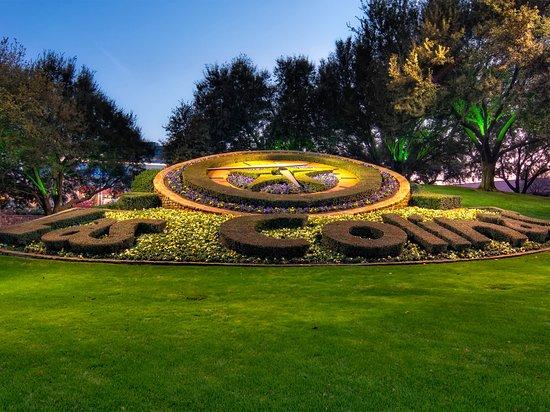Irving, TX: Las Colinas Flower Clock