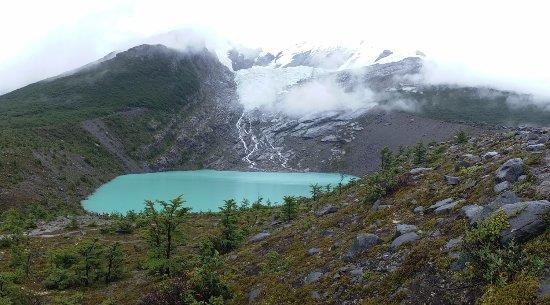 Glaciar Huemul: la tranquilidad es total !!