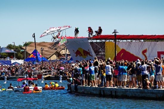 Irving, TX: Red Bull Flugtag Event