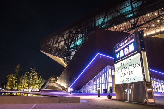 Irving Convention Center at Night