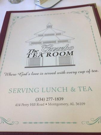 Gazebo Tea Room Montgomery Al