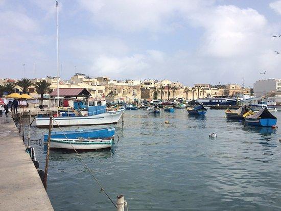 Marsaxlokk, Malta: LE BARCHETTE