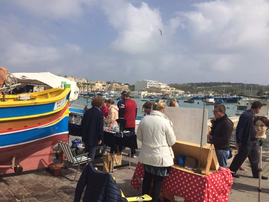 Marsaxlokk, Malta: MOLTO CARATTERISTICO