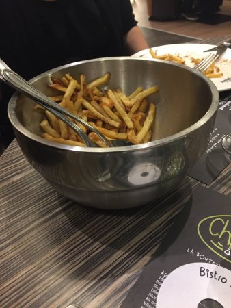Aubiere, France : frites