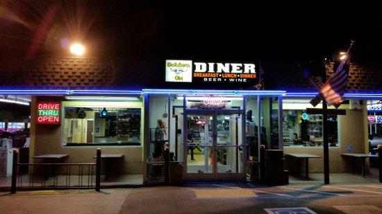 Golden strip diner