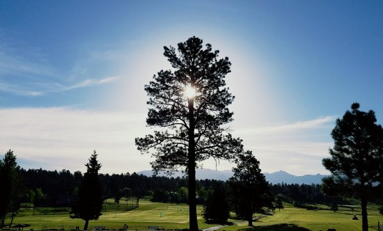 Pagosa Springs, CO: View from the Clubhouse