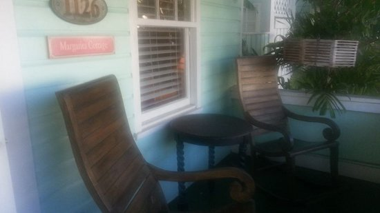 Villas Key West: Front Porch