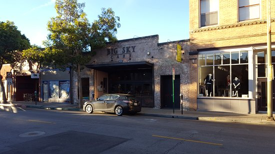 Big Sky Cafe: View from across the street