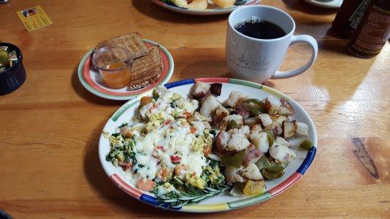 Big Sky Cafe: My breakfast was oh- so wonderful!