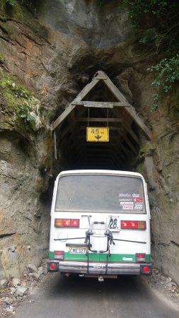 Stratford, Νέα Ζηλανδία: A hand dug tunnell