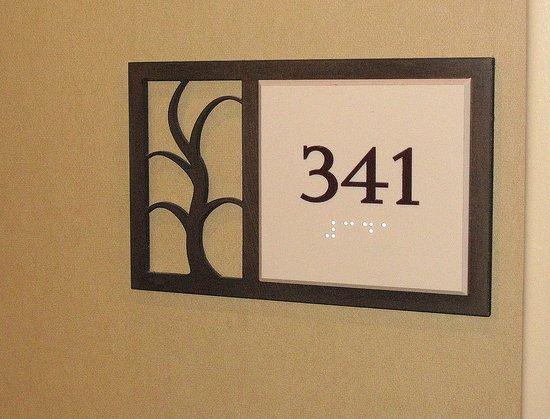 Los Gatos, CA: Room 341 - Toll House - Entrance sign