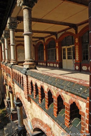 Beelitz, Germany: A balcony