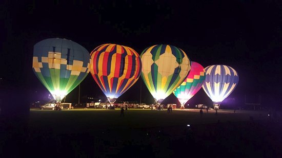 Sunnyside, Etat de Washington : Annual Balloon Rally
