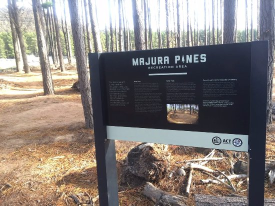 Majura Pines Mountain Bike Trails