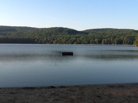 Holderness, NH: Little Squam Lake is clean and delightful for swimming, canoeing & kayaking.