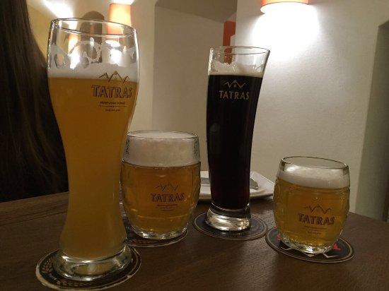 Poprad, Slovakia: Restauracny minipivovar TATRAS