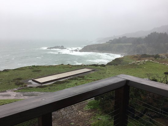 Jenner, CA: View from our balcony. Spectacular no matter the weather.