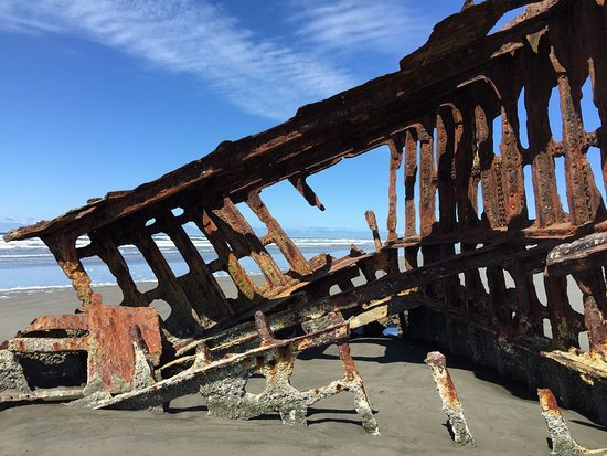 Warrenton, OR: The Wreck of Peter Iredale, Hammond, OR
