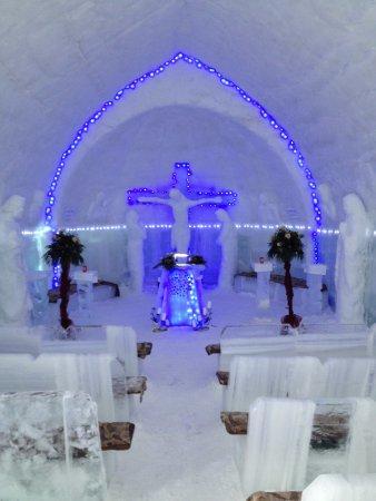 Ice Hotel Romania: The Ice Chapel