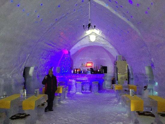 Ice Hotel Romania: The Bar