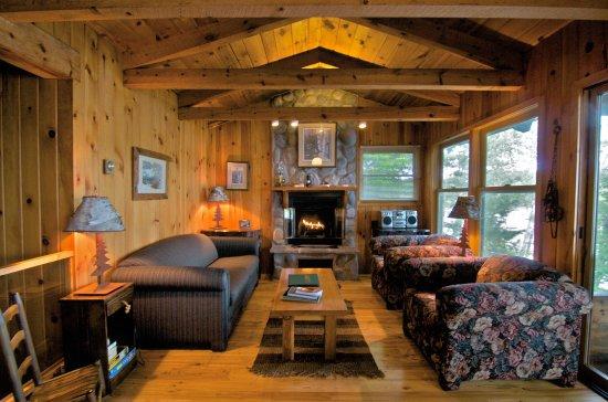 Cook, Minnesota: Northern Lights Living Room