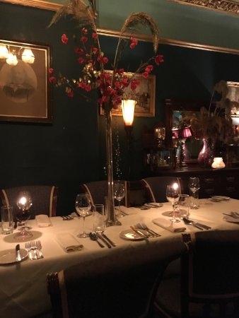 Alyth, UK: Mixture of decor and dishes.