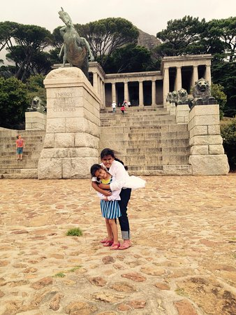 Rhodes Memorial: My kids had a great time exploring this memorial site.