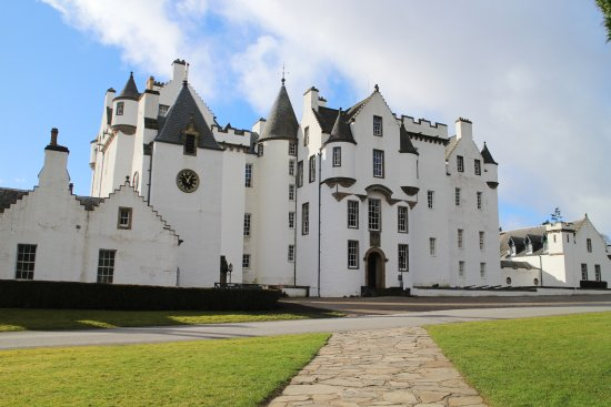 Blair Atholl, UK: Front of the caste