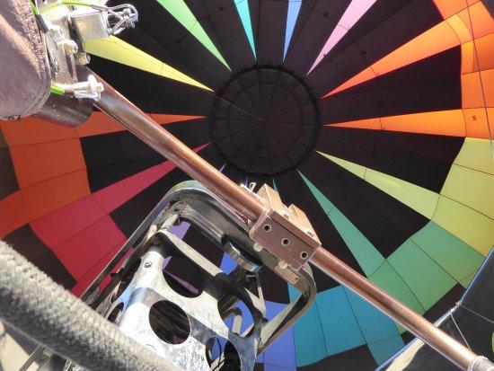 Fleur de Tucson Hot Air Balloon Rides : View from below
