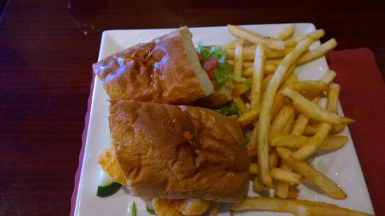 Leominster, MA: Po Boy Panini--not done in the press