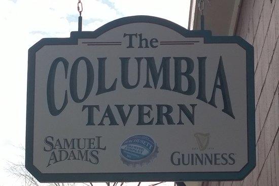 Leominster, MA: The Columbia Tavern--just around the corner from Main St.