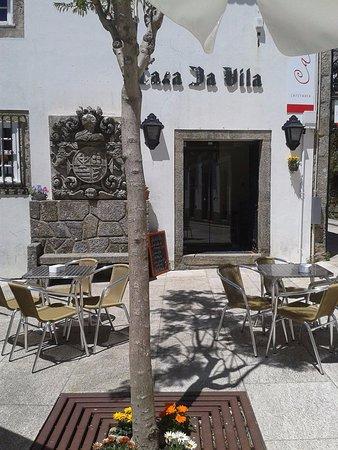 Valenca, Portugal: A nossa esplanada.....
