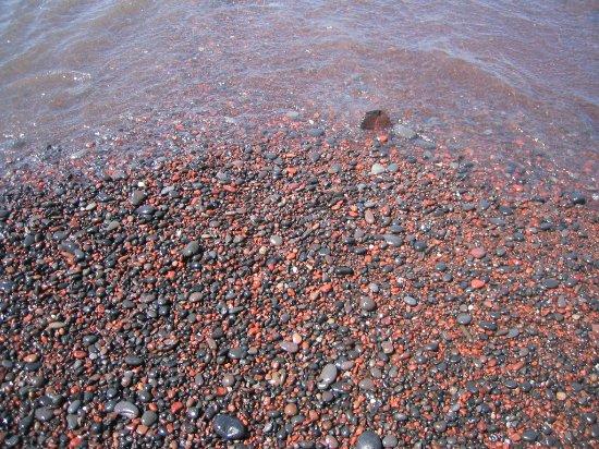 Akrotiri, Greece: Red beach!