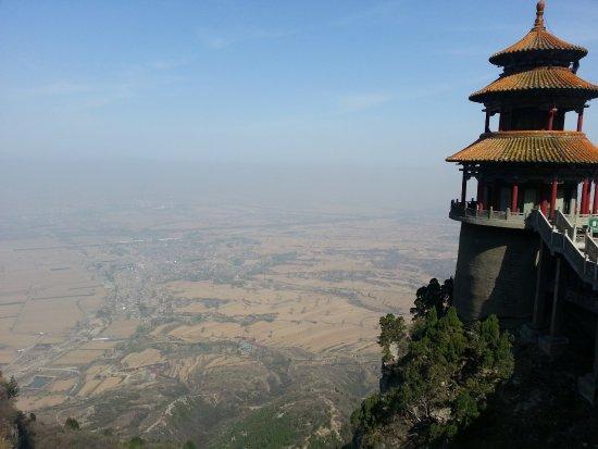 Jiexiu, Chiny: temple