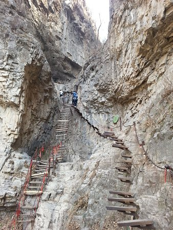 Jiexiu, China: nice climb
