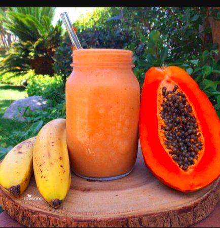 Nirvana on the Beach: home made smoothies