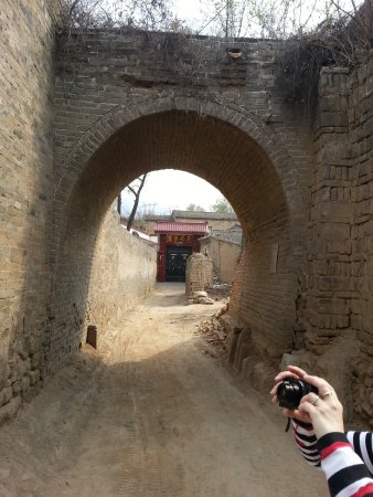 Jiexiu, China: village  alley