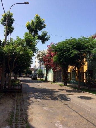 Casa Nuestra Peru B&B: la calle: super tranquila y muy bonita