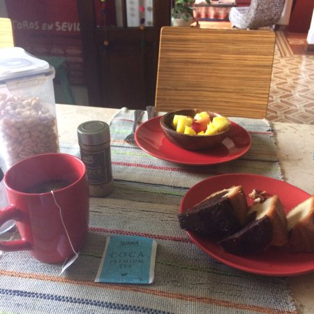 Casa Nuestra Peru B&B: desayuno