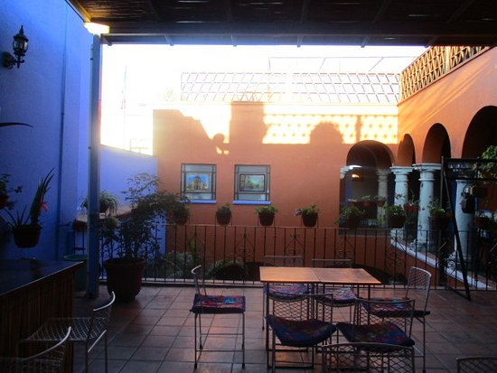 Casa de Siete Balcones: Tu jemy śniadanie.