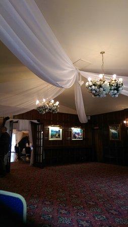 Herstmonceux, UK: the entrance reception