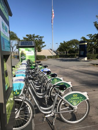 Homewood Suites by Hilton San Diego Airport - Liberty Station: Bike Rentals