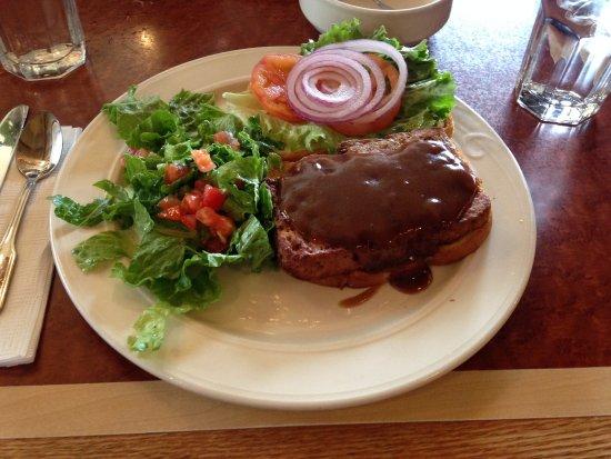 Edmonds, WA: Meat loaf sandwich