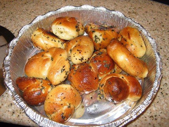 Marina del Rey, CA: Mini pães de alho