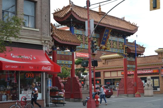 Gate of Harmonious Interest - welcomes visitors to ChinaTown.